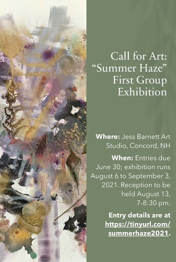 Summer Haze Group Art Exhibition at Jess Barnett Art Studio