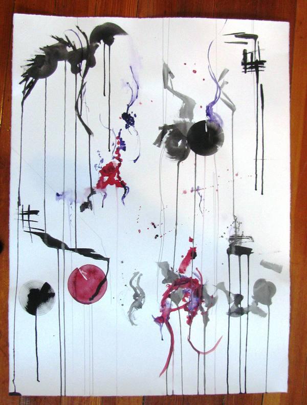 Gouache sketch, 2012